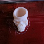 Skull shotglass completed